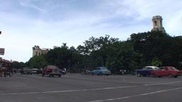 Traffic on Agramonte street Footage