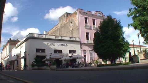 Café Ciudad terrace Footage