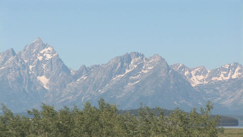 207 gt pan tetons right Footage