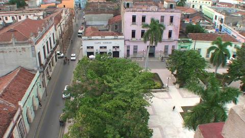 Overview Ignacio Agramonte park Footage
