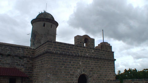 Cienfuegos Castillo de Jagua front Footage