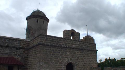 Cienfuegos Castillo de Jagua front Stock Video Footage