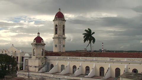 Cienfuegos Catedral de la Purísíma Conceptió Footage