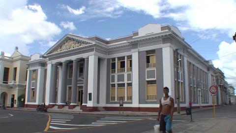 Cienfuegos Colegio San Lorenzo Stock Video Footage