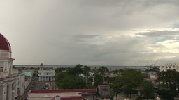 Cienfuegos overview of the city Stock Video Footage