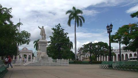 Cienfuegos Park José Martí Footage