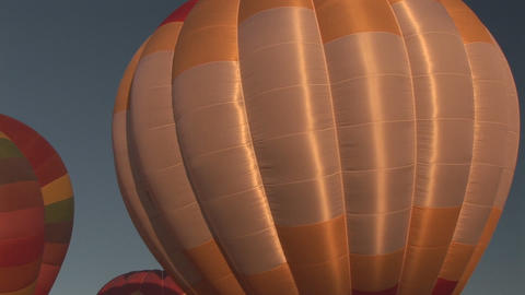 Hot air balloons Footage