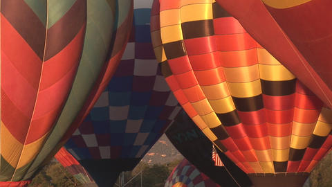 Hot air balloon festival Footage