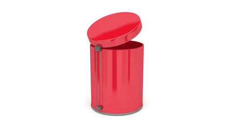 Trash can Animation