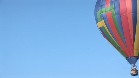 Balloon right to left Stock Video Footage