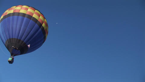 Balloon Drifts Away stock footage