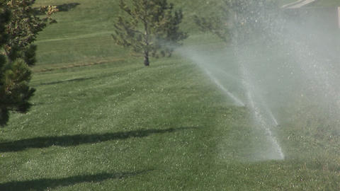 102 sprinklers medium Footage