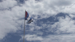 Cuban flag Footage