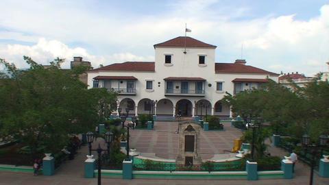 Municipal at parque Céspedes Stock Video Footage