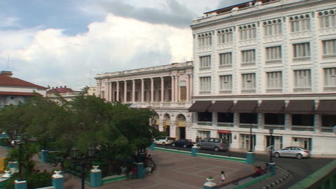 Municipal at parque Céspedes Footage