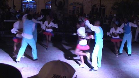 Ruenda de Casino on plaza part 5 Stock Video Footage