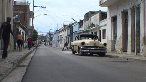 Streetview oldtimer Footage