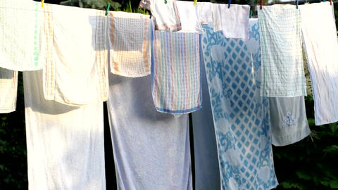 Laundry Stock Video Footage