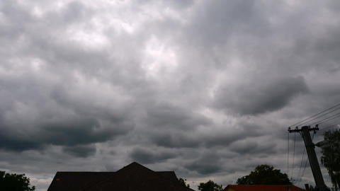 overcast clouds time lapse Footage