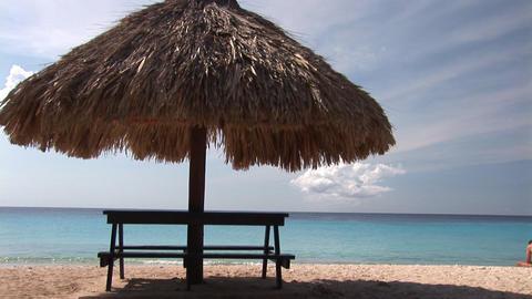 Caribbean beach Footage