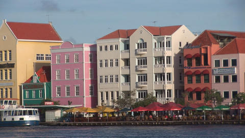 Willemstad, Curacao Footage
