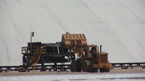 Salt mining on Bonaire Footage