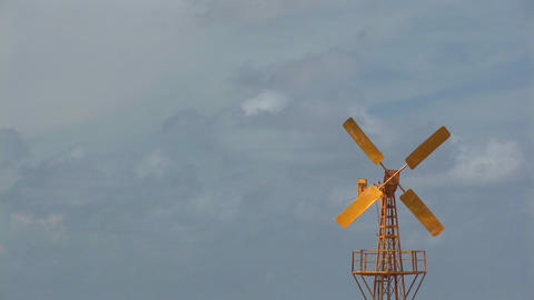 Windmill Stock Video Footage