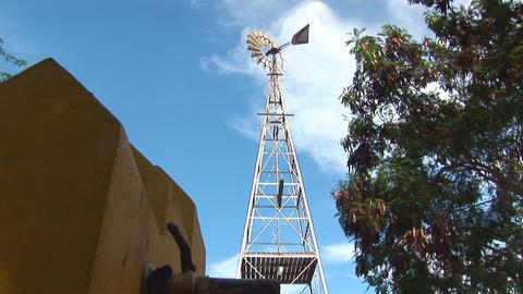 Windmill Stock Video Footage