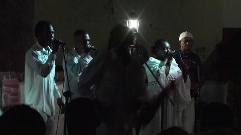 Trinidad Bigband at Casa de la Música 2 Stock Video Footage