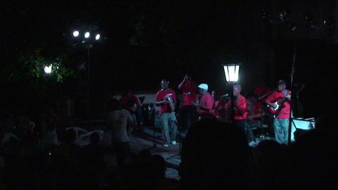Trinidad Bigband at Casa de la Música 6 Stock Video Footage