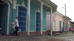 Trinidad Casa de la Trova panshot Footage