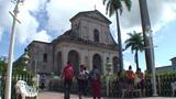Trinidad Parroquial de la Santisima church Footage