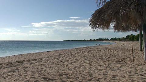 Trinidad Playa Ancón beachview Stock Video Footage