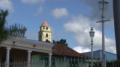 Trinidad Plaza Mayor Stock Video Footage