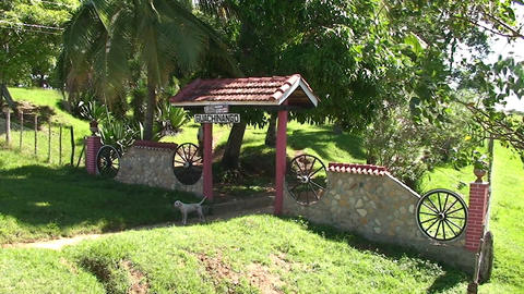 Valle de los Ingenios Hacienda entrance Footage