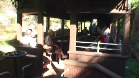 Valle de los Ingenios train a journey trough the l Stock Video Footage