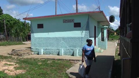 Valle de los Ingenios trainstation Manaca Iznaga 2 Footage