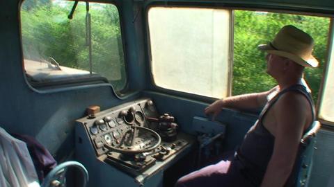 Valle de los Ingenios train view at the operator Footage