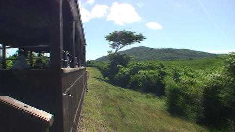 Valle de los Ingenios train view from the train 5 Footage