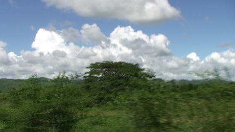 Valle de los Ingenios train view from the train 11 Stock Video Footage