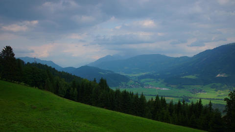 Austrian Alps Stock Video Footage