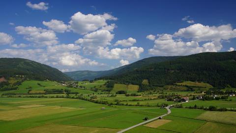 Bavarian Alps Stock Video Footage