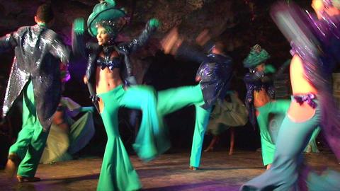 Cuba Varadero Cabaret Cueva del Pirata 6 No Sound Footage