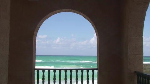 Varadero Beachview Stock Video Footage
