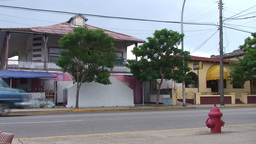 Varadero oldtimer passing by on the street Stock Video Footage