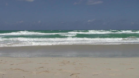 Varadero sea and beach Stock Video Footage