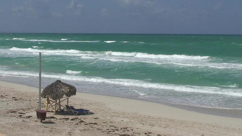 Varadero sea and beach 3 Stock Video Footage
