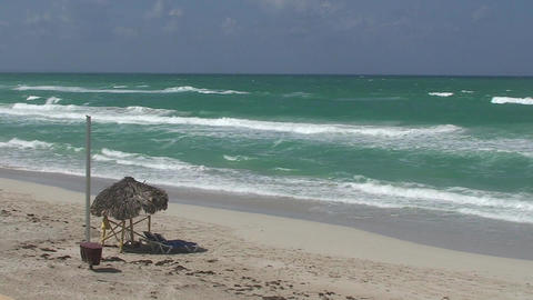 Varadero sea and beach 3 Stock Video Footage