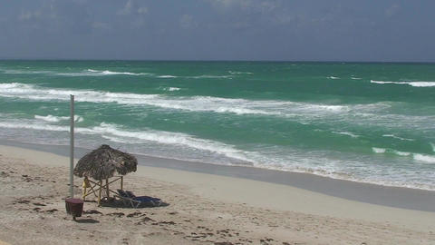 Varadero sea and beach 3 Footage