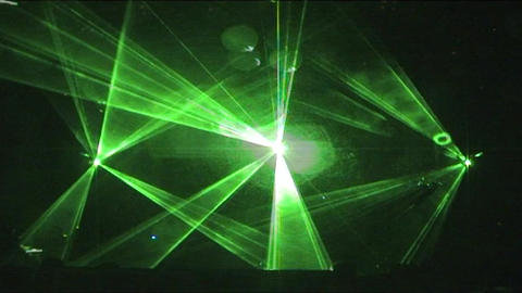 Laser 7 Stock Video Footage